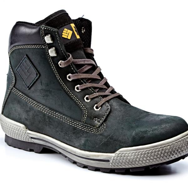 fff6481a3ed96f Black Waxy Nubuck Hiker Boot S3 SRC – Gary for Boots