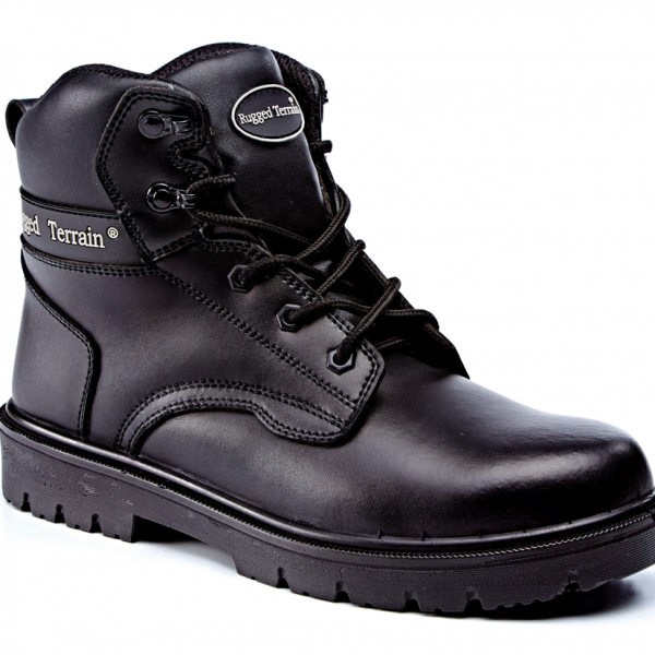 3f6e7cc60bb53b RT530B Black Leather Derby Boot S3 SRC – Gary for Boots