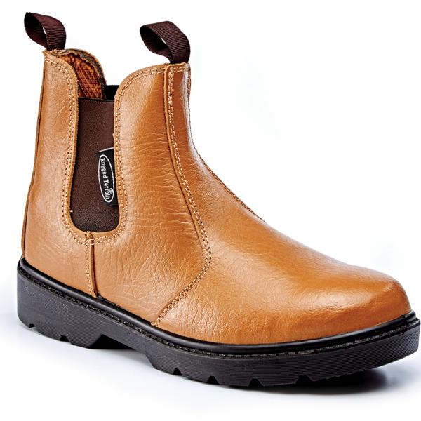 2f258f8e960bf5 RT502T Tan Apollo Leather Chelsea Boot SBP SRC – Gary for Boots